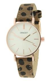 "Ernest horloge ""Mini-Misty-Cheetah"" mocca"