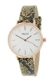 """Ernest horloge Rosé-Cindy-Medium-Python"""" beige"""