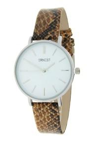"Ernest horloge Silver-Cindy-Medium-Python"" camel"