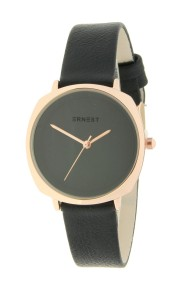 "Ernest horloge ""Maxim"" zwart"