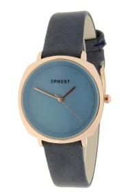 """Ernest horloge """"Maxim"""" jeansblauw"""