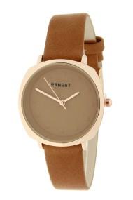 "Ernest horloge ""Maxim"" camel"