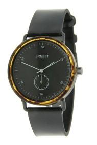 """Ernest horloge """"Teagan"""" zwart-zwart"""