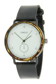 """Ernest horloge """"Teagan"""" zwart-wit"""