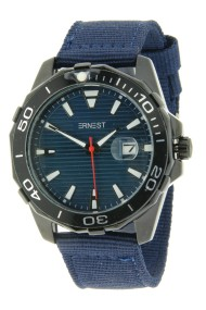 "Ernest herenhorloge ""New-Kick-Star"" blauw"