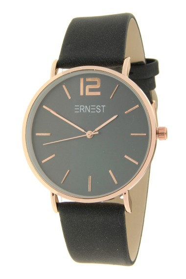 Ernest horloge Rosé-Cindy FW19 zwart