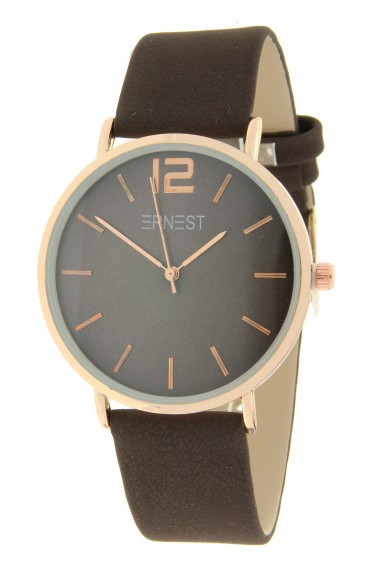 Ernest horloge Rosé-Cindy FW19 choco