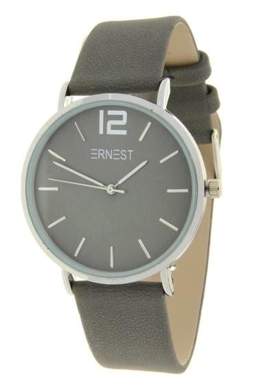 Ernest horloge Silver-Cindy-FW19 donkergrijs