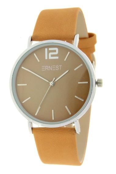 Ernest horloge Silver-Cindy-FW19 mostard