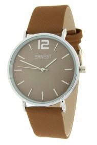 Ernest horloge Silver-Cindy-FW19 licht mocca