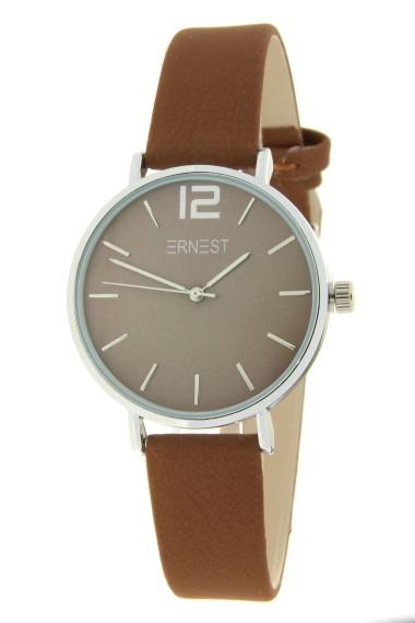 Ernest horloge Silver-Cindy-Mini FW19 licht mocca