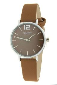 Ernest horloge Silver-Cindy-Mini FW19 lichtbruin