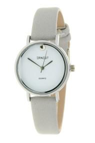 "Ernest horloge ""Veronique"" lichtgrijs"