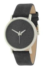"""Ernest horloge """"Nicola"""" glitter-zwart"""