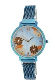 """Ernest horloge """"Tokio"""" blauw"""
