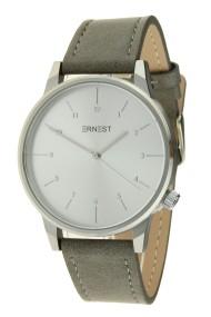 """Ernest horloge """"New-Elegance"""" grijs-zilver"""