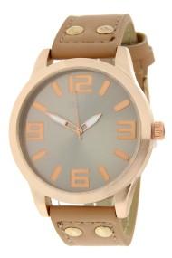 """Ernest horloge """"Rosé-Brixton medium"""" camel"""