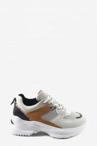 """Sneakers """"Dina"""" camel"""