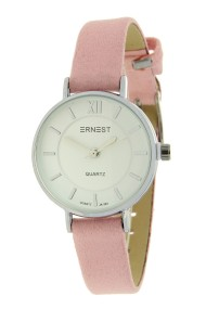 "Ernest horloge ""Coco"" lichtroze"