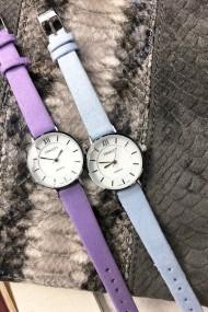 """Ernest horloge """"Coco"""" lichtblauw"""