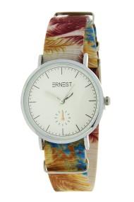 """Ernest horloge """"Fora"""" beige"""