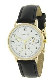 """Ernest horloge """"Vintage Vera"""" zwart"""