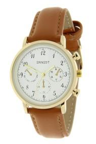 """Ernest horloge """"Vintage Vera"""" camel"""