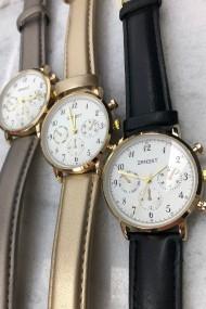 """Ernest horloge """"Vintage Vera"""" lichtgoud"""