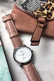 """Ernest horloge """"Sophie"""" mocca"""