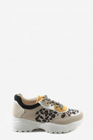 """Sneakers """"Susa"""" geel"""