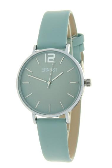 Ernest horloge Silver-Cindy-Mini SS20 pastelgroen