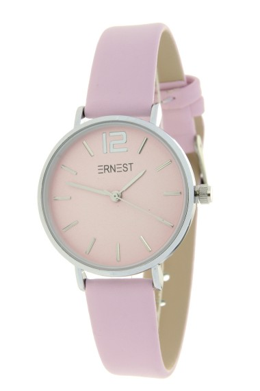Ernest horloge Silver-Cindy-Mini SS20 softpink