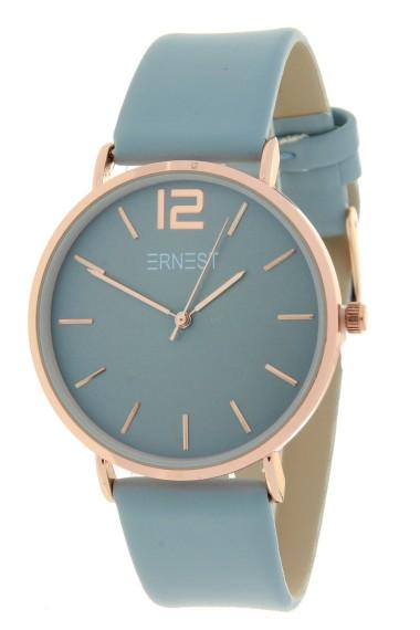 Ernest horloge Rosé-Cindy SS20 ijsblauw