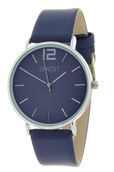 Ernest horloge Silver-Cindy SS20 diepblauw