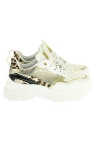 "Sneakers ""Gold-Leopard"" goud"