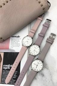 """Ernest horloge """"Samira"""" oudroze"""