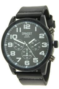 """Ernest herenhorloge """"Cameron"""" zwart-wit"""
