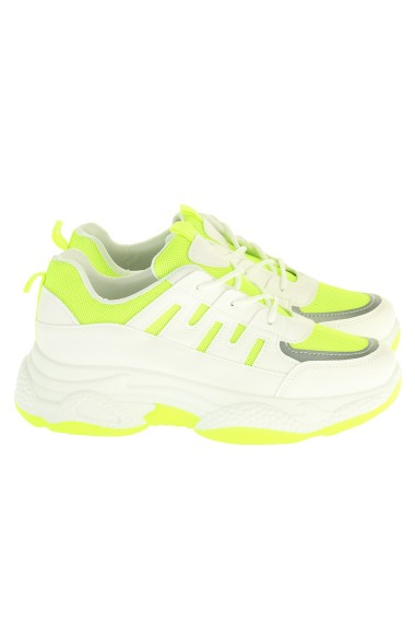 """Sneakers """"Neon Nina"""" groen"""