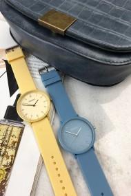 "Ernest horloge ""Ruby"" jeansblauw"