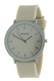 "Ernest horloge ""Ruby"" beige"
