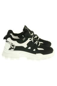 """Sneakers """"Love"""" zwart"""