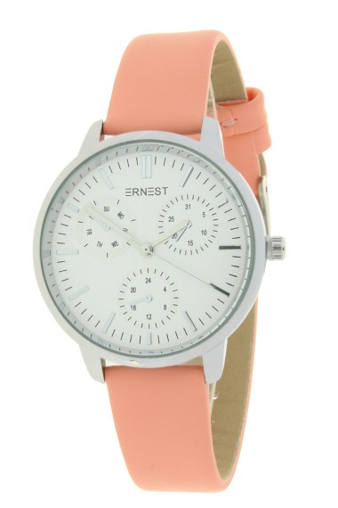 "Ernest horloge ""Luna"" zalm"