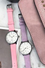 """Ernest horloge """"Luna"""" pink"""