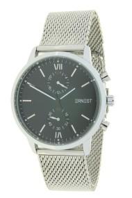 """Ernest horloge """"Inaya"""" zilver-zwart"""