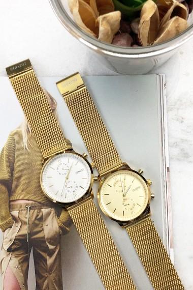 """Ernest horloge """"Inaya"""" goud-goud"""
