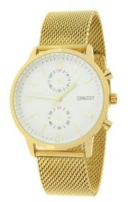 """Ernest horloge """"Inaya"""" goud-wit"""