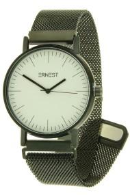 """Ernest horloge """"Finisty-Magnet"""" zwart-wit"""
