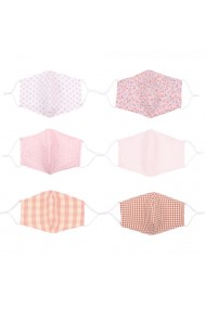 """mondkapje """"12 stuks Mixed Pack"""" pink"""