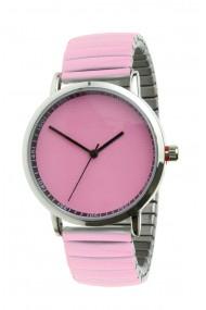 """Ernest horloge """"Fancy Plain"""" pink"""