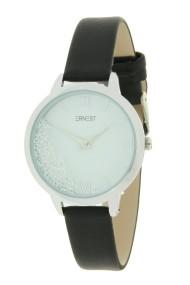 "Ernest horloge ""Krystal"" zwart"